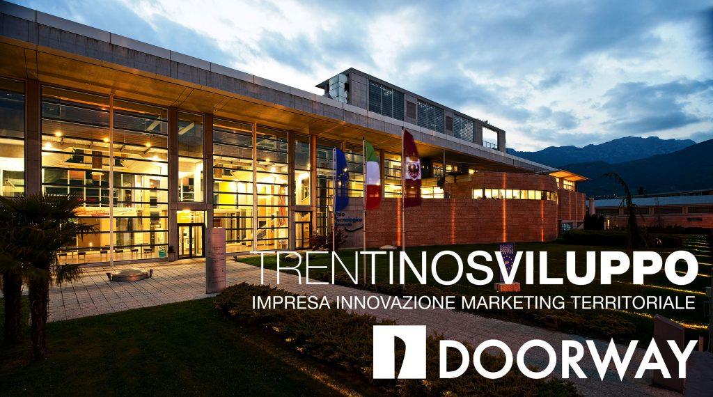 Trentino Sviluppo Doorway