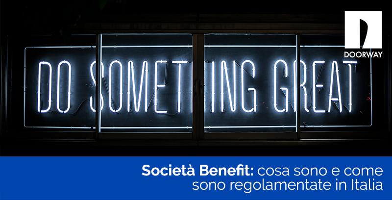 Società Benefit cosa sono