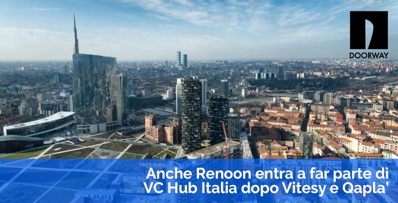 Renoon entra in VC Hub Italia