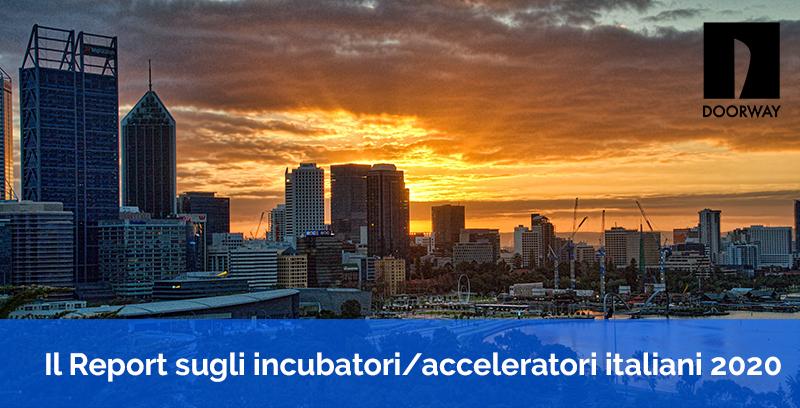 Report pubblico sugli incubatori/acceleratori italiani