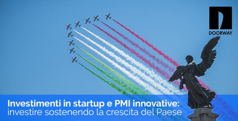 Investimenti in startup e PMI innovative