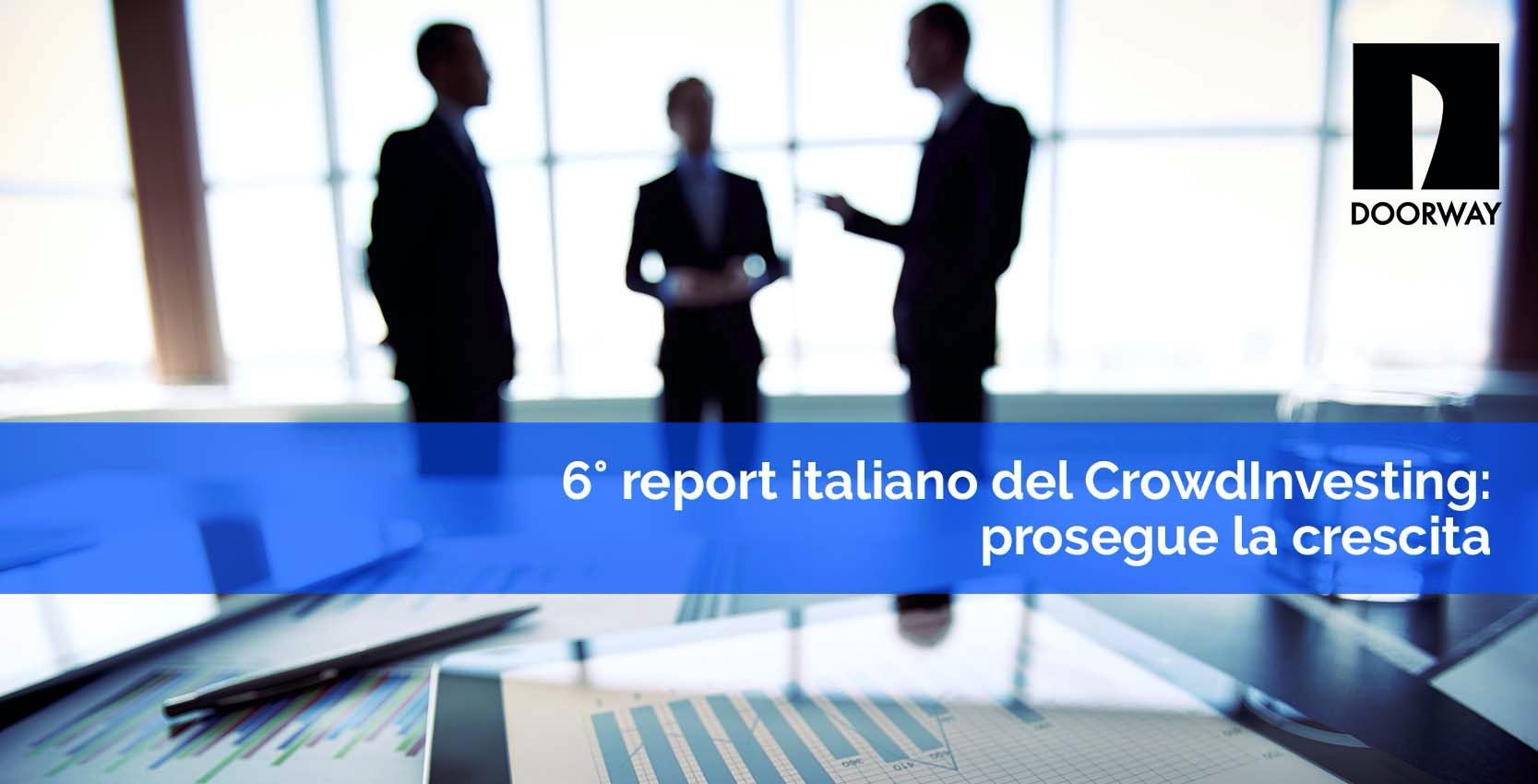 6° Report italiano del Crowdfunding: prosegue la crescita