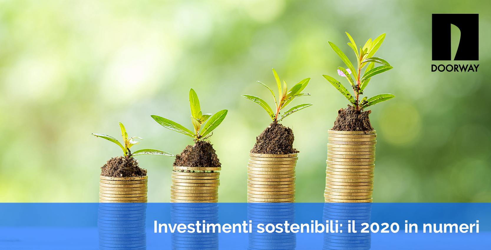 investimenti sostenibili: il 2020 in numeri