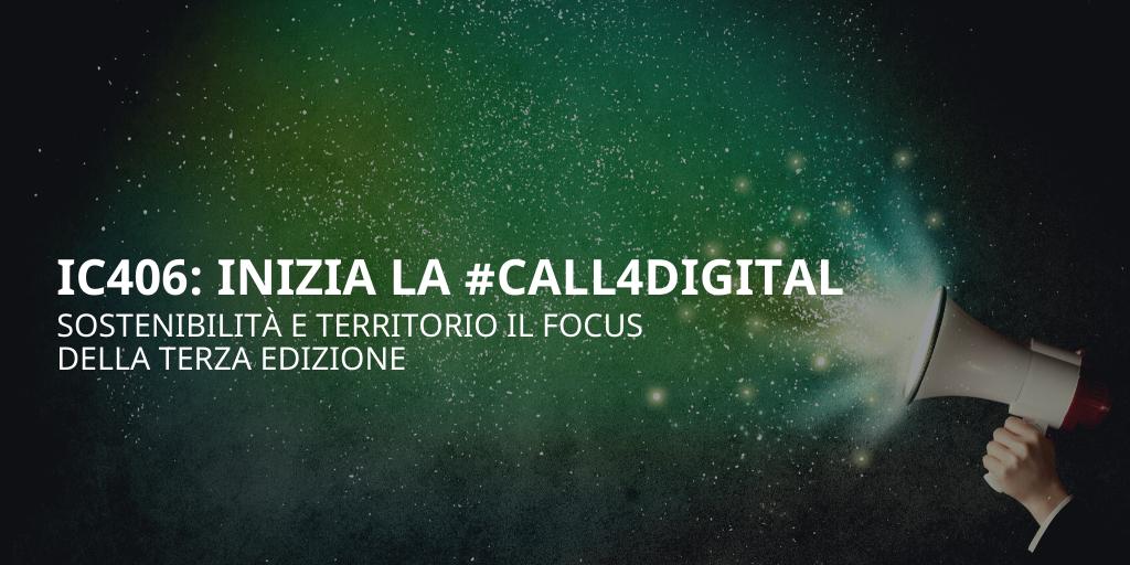 Al via la nuova Call4Digital di IC406, focus sulla sostenibilità